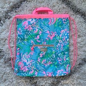 Aqua La Vista backpack cinch beach bag